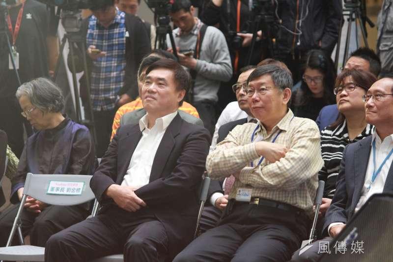國民黨副主席郝龍斌批台北市長柯文哲為了換取訪日門票與禮遇,當著日本國會議員的面為核食解套背書,否認公投結果,非常不妥。(資料照,方炳超攝)
