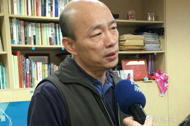 高雄市黨部主委韓國瑜發出通知,確定將在9日上午將戶籍遷至高雄,宣布要投入年底的高雄市長選舉。(資料照,周怡孜攝)