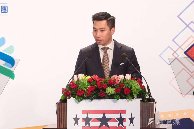 「美國亞太副助理國務卿黃之瀚在21日正訪問台灣。這次訪問透露的訊號,希望我們的政府可以改變一些政策。」(顏麟宇攝)