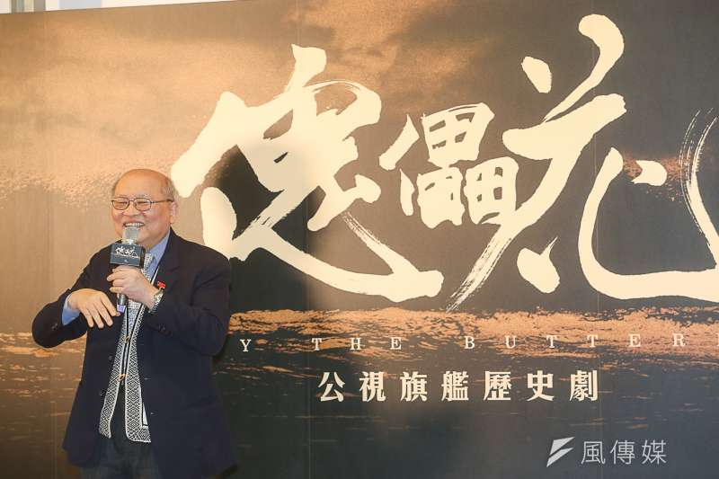 台灣很長一一段時間影視製作費用偏低,公視終於要以平均十集一億的資本籌拍「傀儡花」。圖為原作者陳耀昌。(陳明仁攝)