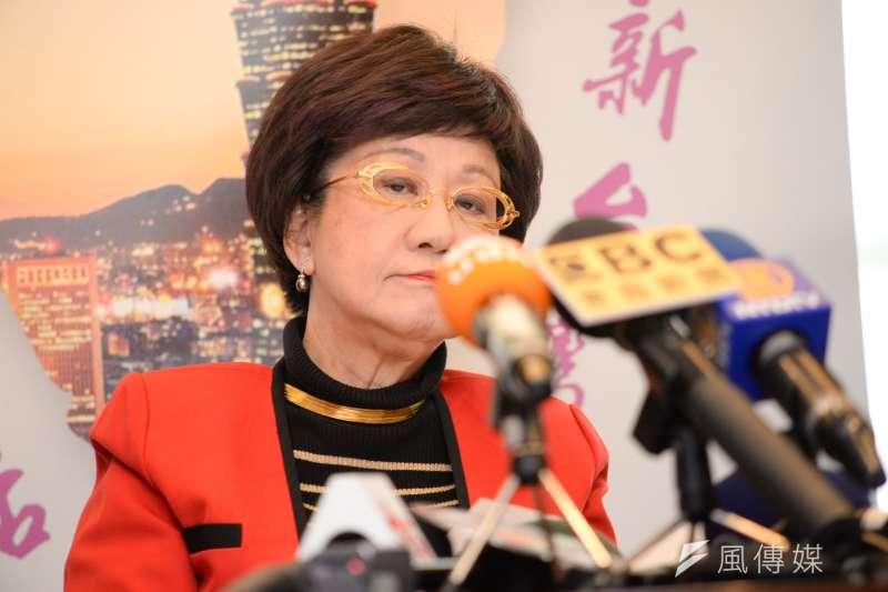 前副總統呂秀蓮25日爆料,指台北市長柯文哲多年訪中,涉接受招待。(資料照片,甘岱民攝)