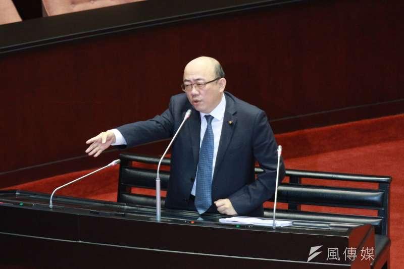 20180323-立法院進行總質詢,郭正亮委員發言。(陳韡誌攝)