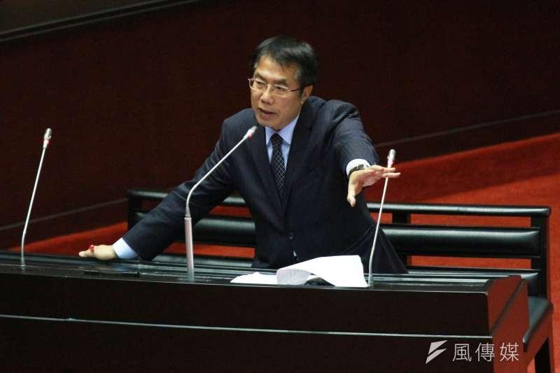 20180323-行政院長於立法院接受總質詢,黃偉哲委員發言。(陳韡誌攝)