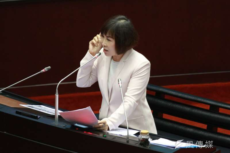 20180323-立法院進行總質詢,呂玉玲委員發言。(陳韡誌攝)