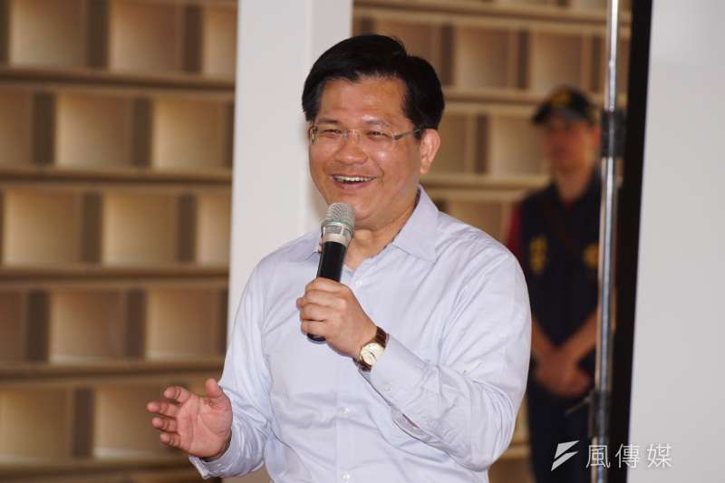 台中市長林佳龍認為,台灣要有自己的高度來看待和處理對中國的關係,不要讓對方覺得看不起他們,甚至我方一些主張也可有利於對方,可建構更長期的關係。(資料照,盧逸峰攝)