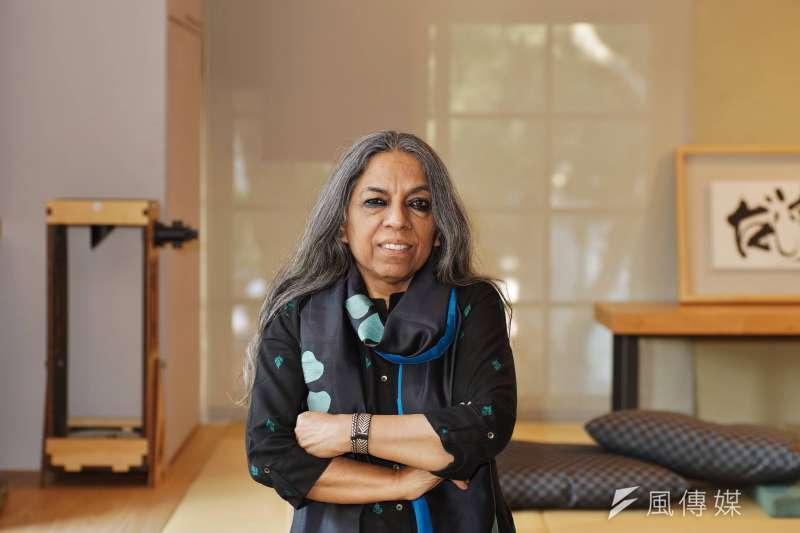 印度女權運動者烏爾瓦西.布塔莉雅(Urvashi Butalia)。(盧逸峰攝)