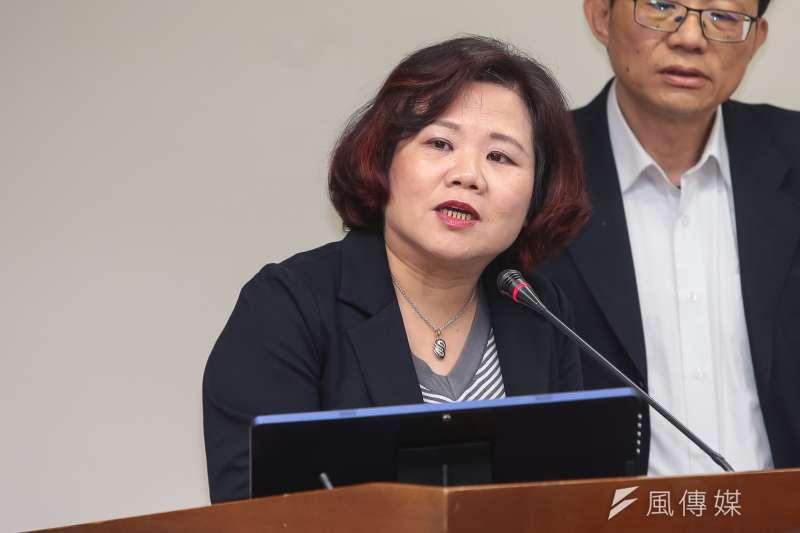 20180326-勞動部長許銘春26日於立院衛環委員會備詢。(顏麟宇攝)