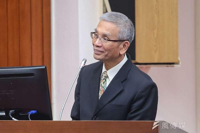 20180326-財政部長許虞哲26日於立院財政委員會備詢。(顏麟宇攝)