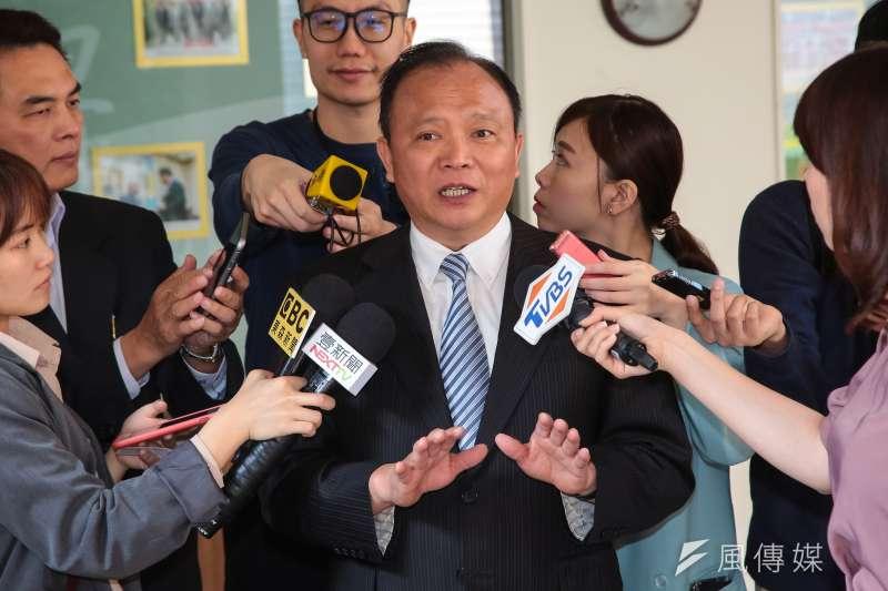 20180327-農委會主委林聰賢27日出席立院總質詢。(顏麟宇攝)