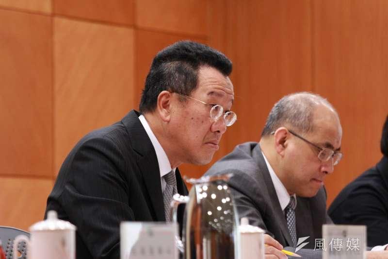 金管會27日舉辦「新版公司治理藍圖規劃」說明會,金管會主委顧立雄出席。(陳韡誌攝)