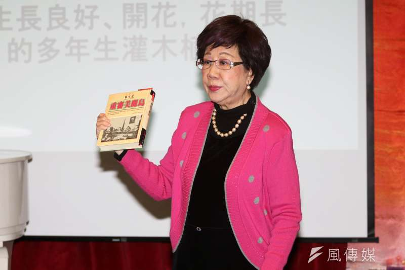 。前副總統呂秀蓮今(31)砲火對準中央黨部,指她與立委姚文智民調拉不高,就是黨中央在「唱衰」。(資料照,蘇仲泓攝)