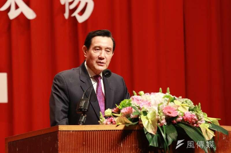 前總統馬英九認為,近期共機繞台只是武嚇,他們應無意犯台。(資料照,陳韡誌攝)