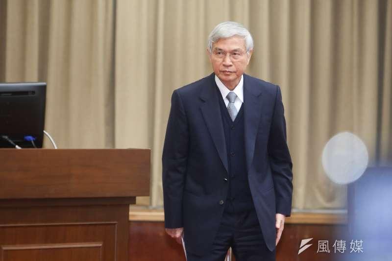 中央銀行總裁楊金龍。(資料照片,陳明仁攝)