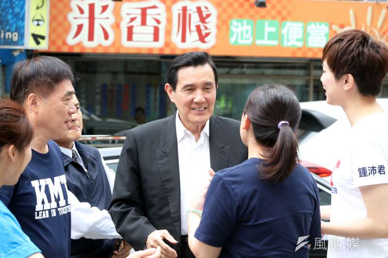 前總統馬英九。(資料照片,蘇仲泓攝)
