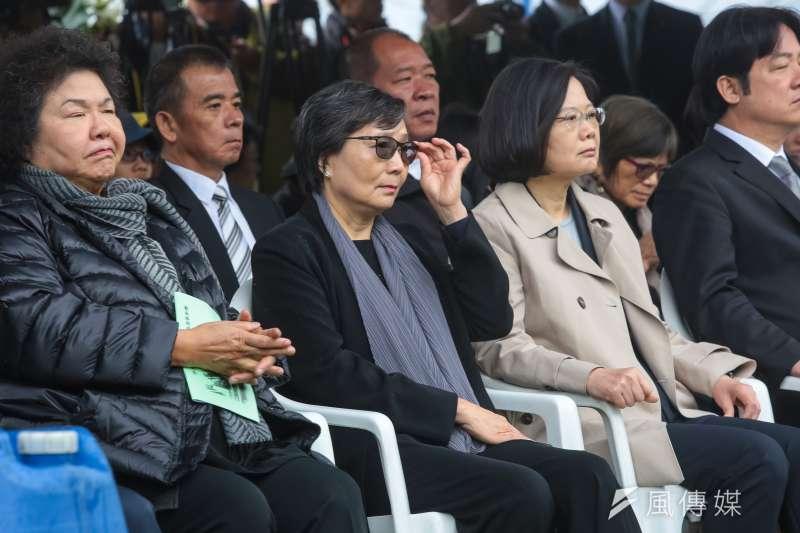 20180407-鄭南榕遺孀葉菊蘭7日出席「鄭南榕殉道29周年追思紀念會」。(顏麟宇攝)