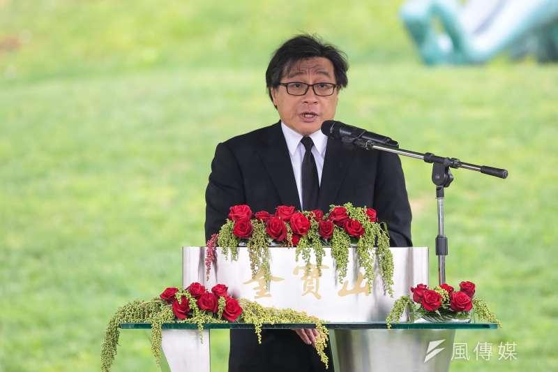 中研院台灣史研究所副研究員吳叡人表示,如今面臨中國威脅,「我們最大敵人不是中國,而是我們的心智。」(資料照,顏麟宇攝)