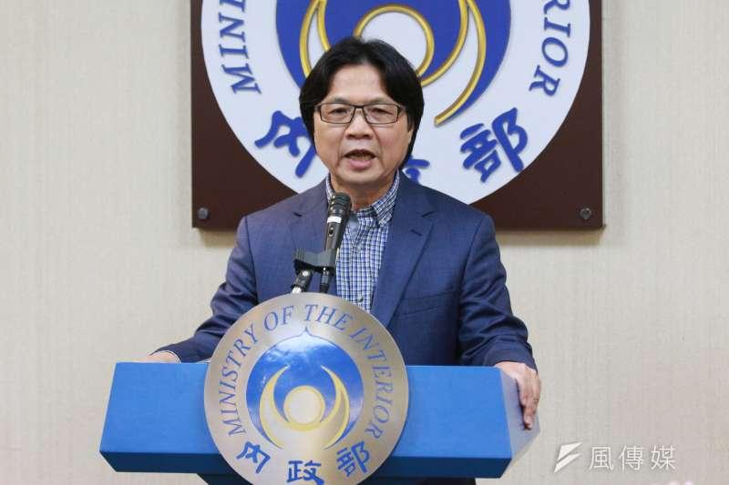 日前內政部長葉俊榮召開記者會,針對赴中短期客座講學進行說明。(資料照,陳韡誌攝)