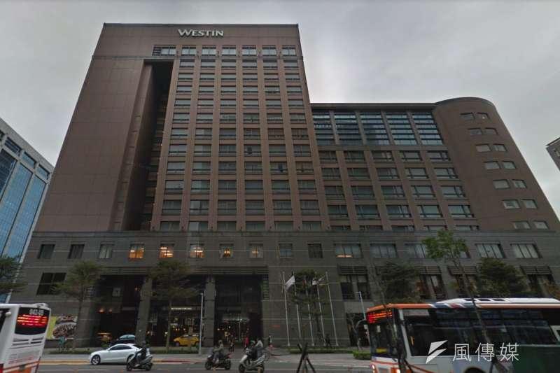 六福旅遊集團旗下台北威斯汀六福皇宮,因出租方國泰人壽另有計畫,將不再續租。(取自Google Map)