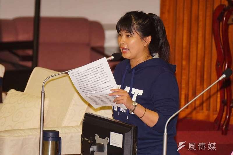 中國國民黨台北市黨部今天公布市議員提名名額,共33席,擬徵召現任議員林亭君。(資料照,盧逸峰攝)