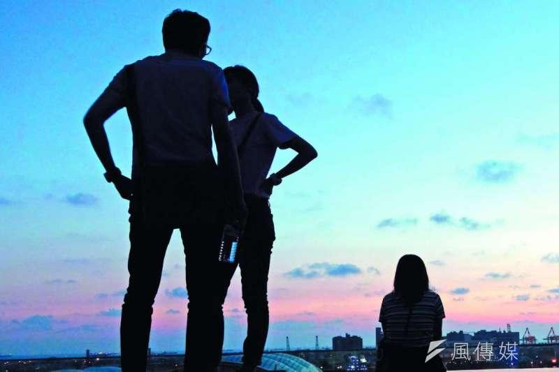 台灣除了正式邁入高齡社會,也面臨了另一個國安危機──高離婚率。(林瑞慶攝)