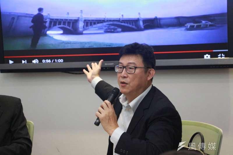 代表民進黨參選北市長的立委姚文智表示,既然新北市長已確定徵召前行政院長蘇貞昌,台北市已進入「關鍵時刻」。(資料照,陳韡誌攝)