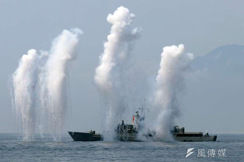 海軍計畫以316億元籌建「微型飛彈突擊艇」,提升不對稱作戰能量。(資料照,蘇仲泓攝)