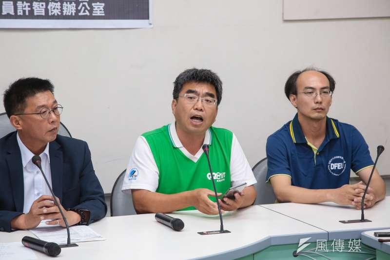 全教產秘書長劉亞平。(資料照片,顏麟宇攝)