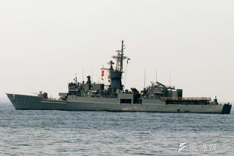 審計部在中央政府總預算審核報告中指出,海軍包括康定級、成功級、基隆級、濟陽級等各類型軍艦,都出現修護作業拖延的情形。圖為濟陽級鳳陽軍艦。(資料照,蘇仲泓攝)