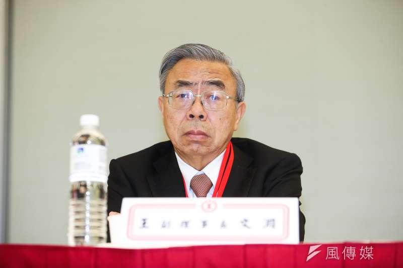 工總理事長王文淵表示,基本工資是最低、最低的保障而已,不是提高了就是照顧人民,提高反而導致年輕人失業。(資料照,陳明仁攝)