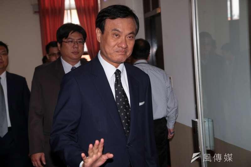 20180417-立法院長蘇嘉全17日出席主持朝野黨團協商。(顏麟宇攝)