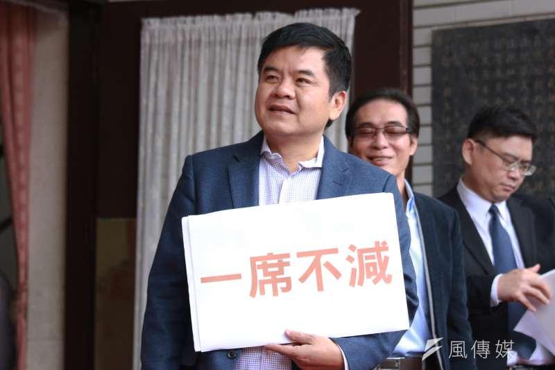 為擺平黨內爭議,原確定在屏南地區參選的莊瑞雄,改列民進黨不分區。(資料照片,陳韡誌攝)
