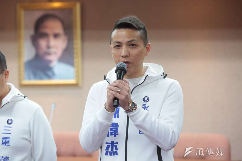 國民黨決定徵召新北市青工總會長陳偉杰披戰袍出征第一選區市議員選舉。(資料照,顏麟宇攝)