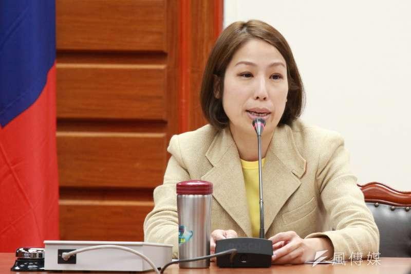 20180418-立法院舉辦幼托服務選項多元化公聽會,立法委員余宛如發言。(陳韡誌攝)