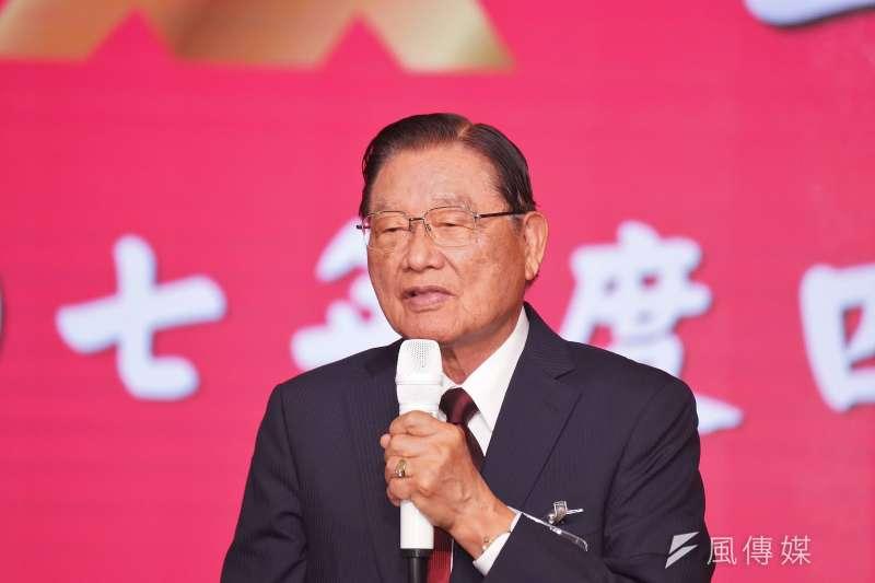 2018年12月10日,前海基會董事長江丙坤病逝。(資料照,盧逸峰攝)