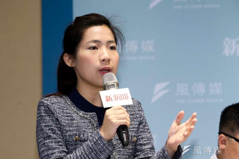 針對前總統馬英九遭起訴,馬前總統辦公室發言人徐巧芯表示「不意外」。(資料照,陳明仁攝)
