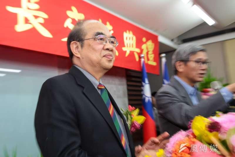 新任教育部長吳茂昆在爭議聲中就任,他對自己協助大陸軍武發展或溢領經費等作為,一定沒有愧疚之感。(顏麟宇攝)