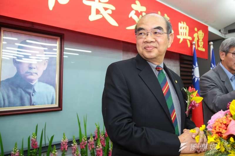 國民黨發言人洪孟楷25日指出,教育部長吳茂昆拿國立東華大學的資源所研發出來的專利,變成個人獲利販售的招牌。(資料照,顏麟宇攝)