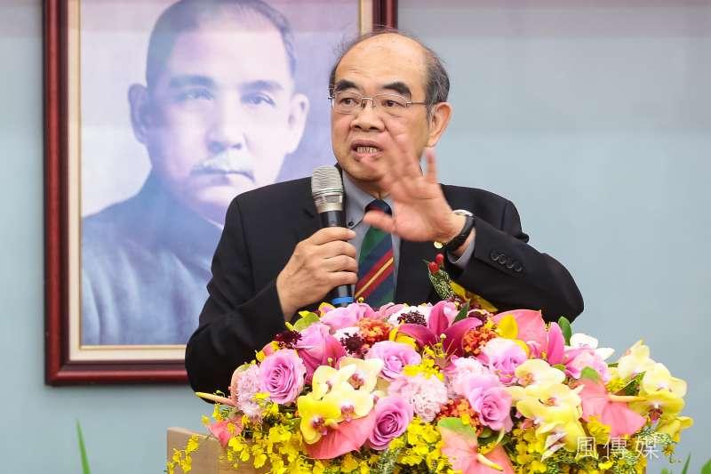 新任教育部長吳茂昆被視為「顏色正確」的選擇,但就任絕對不能以「深綠學者」沾沾自喜。(顏麟宇攝)
