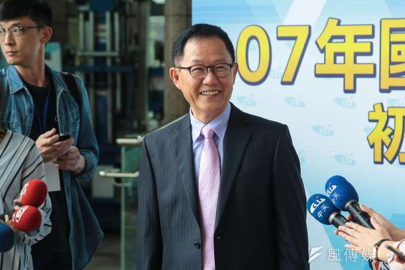 針對台北市長柯文哲於專訪中道歉言論,國民黨台北市長初選參選人丁守中批柯P像水母一樣,沒有核心價值。(資料照,顏麟宇攝)