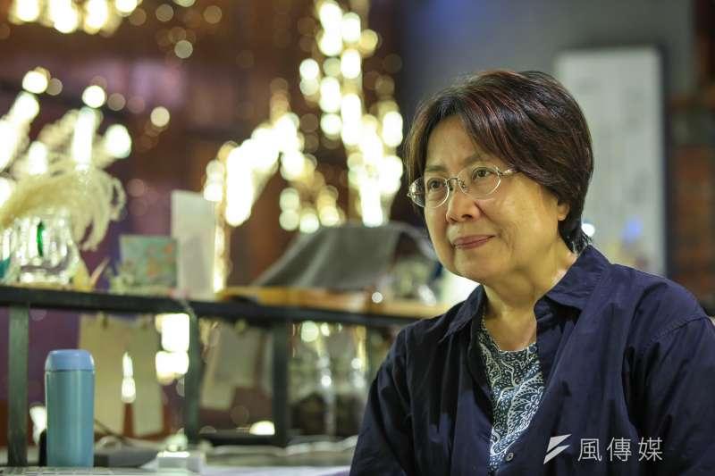 20180418-慰安婦專題,台北,阿嬤家─和平與女性人權館,婦援會執行長范情專訪。(顏麟宇攝)