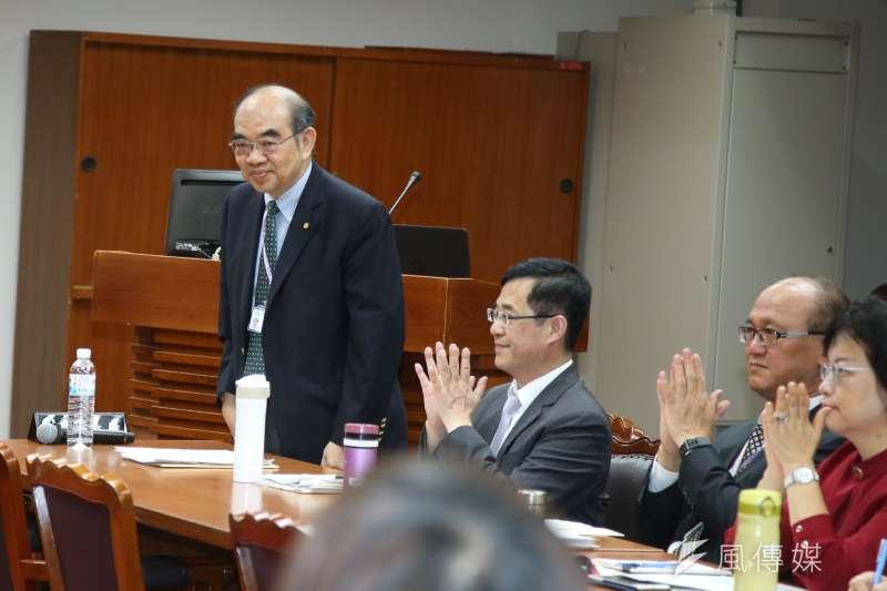 新上任教育部長吳茂昆。(資料照,陳明仁攝)