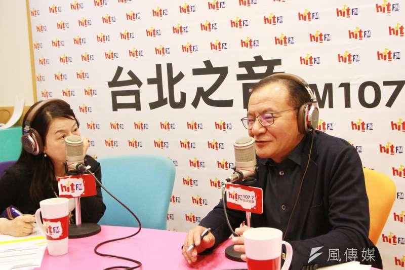 20180424-綠委高志鵬24日接受廣播專訪,並表示年底選戰關鍵將以「投票率」決定輸贏。(Hit Fm《蔻蔻早餐》製作單位提供)