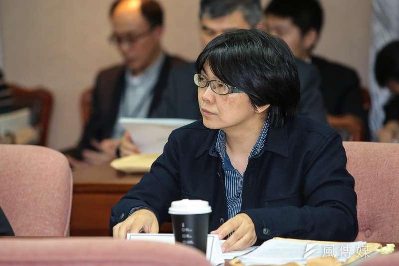 針對張天欽事件,促轉會委員葉虹靈提出她的想法。(資料照片,顏麟宇攝)