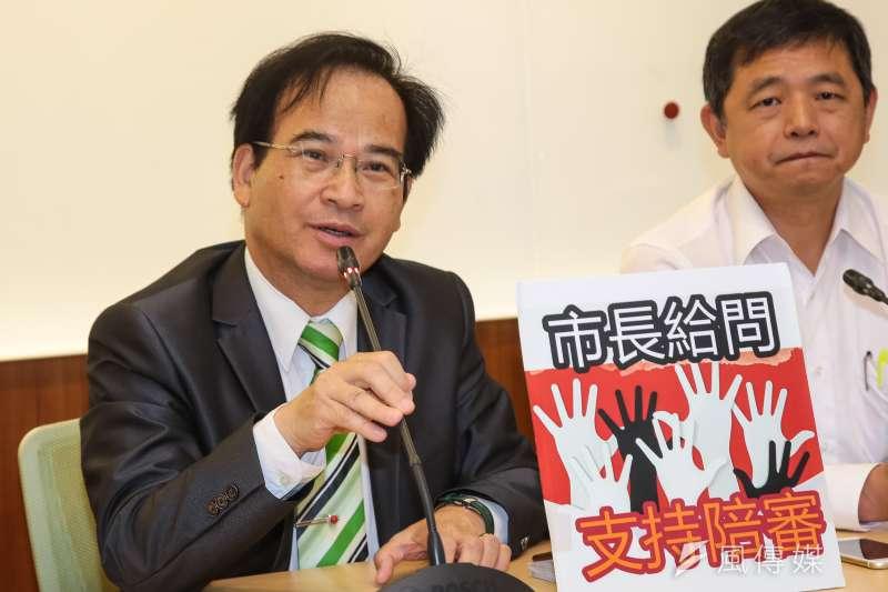 前行政院長賴清德稍早已赴民進黨中央黨部完成2020總統初選登記,對此,前台南縣長蘇煥智今(18)日在臉書發表評論。(資料照,顏麟宇攝)