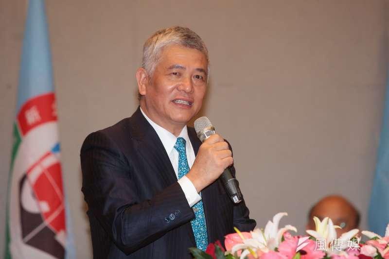 20180428-民進黨立委施義芳28日出席新北市土木技師公會會員大會。(顏麟宇攝)