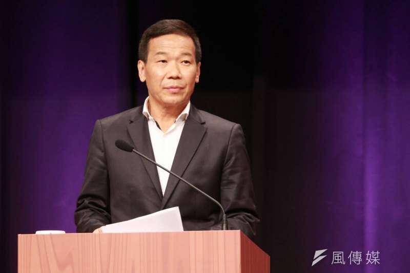 國民黨台北市長初選辯論會第二場,鍾小平出席初選辯論會。(方炳超攝)