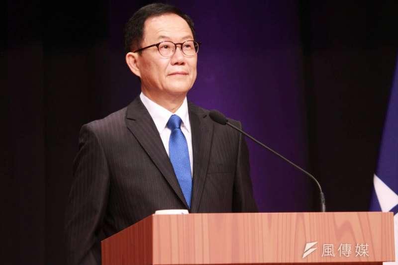 國民黨台北市長初選辯論會第二場,丁守中出席初選辯論會。(方炳超攝)