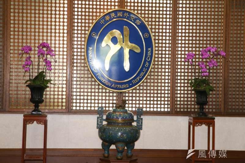 外交部入門大廳。(資料照,陳明仁攝)