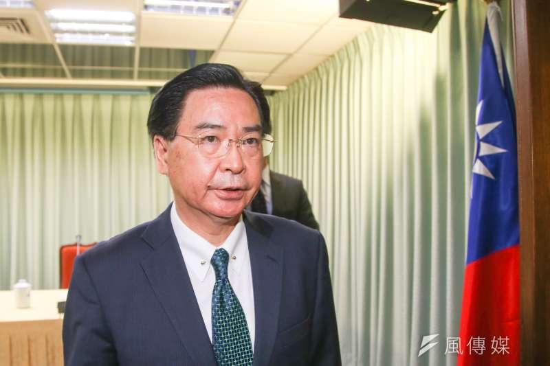 黨政人士也表示,雖然外交部長吳昭燮(見圖)表態要請辭,但蔡英文的態度是,「沒有請辭的問題!」(資料照,陳明仁攝)
