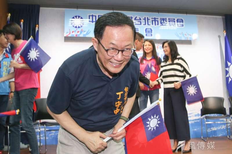 國民黨台北市長參選人丁守中(圖)在最新民調中,支持度勝過台北市長柯文哲。(資料照,陳明仁攝)